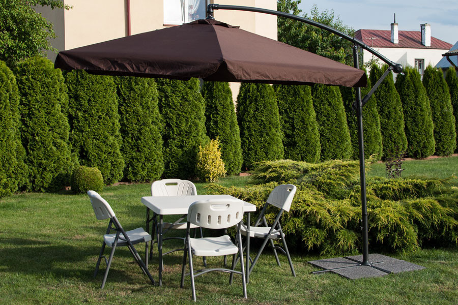 parasol ogrodowy na wysięgniku