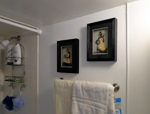 wieszaki na ręczniki w łazience